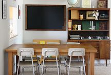 Homeschool {Design} Inspiration / Homeschooling doesn't have to be at the dinner table. Find a space and make it beautiful and functional using these inspiring ideas. / by Jen Buckley | Graceful Living {at HOME}