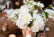 Centerpieces for anniversary party / by Lori Wells