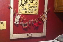 Laundry room / by Felicia Scurlock