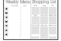 Organization - Meals / by Rebekah Wilkinson