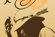 Neil Young Tour Poster / by Frode Øyen