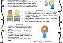 Spelling / Words Their Way, Differentiated Spelling / by Amber Dougan
