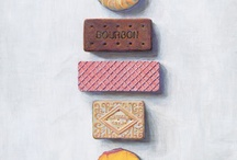 Biscuity Art  / Inspiration for an illustration project xx / by Lucy Bishop
