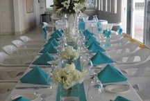 Turquoise Reception with a hint of silver / by Robin Molberg