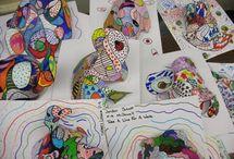 stuff for school / by Ms Allan (Art Teacher)