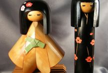 Kokeshi dolls (Japan) / by Sarva Mangala