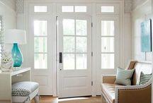 Home Girl: Entryway/Front Door / by Michelle C