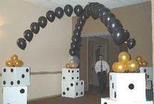 Vegas party ideas / by Shawn Giomi Jarolimek