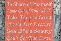 Beach bathroom ideas! / by Sarah Ricchio