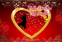 Dia Dos Namorados / Feliz Dia Dos Namorados, Cartões do Dia dos Namorados, e Postais de Dia dos Namorados @ PostaisRio.com / by Birthday Ecards