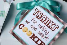 teacher gifts / by Belinda Branum