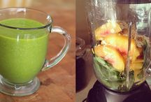 Breakfast/Workout Smoothies / Trying to get healthy and have a nice easy breakfast each morning / by Sarah Christovich