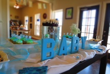 Baby Showers / This is what happens when your friend runs a catering company and you are pregnant. Got to love babies! / by Sooner Legends Catering