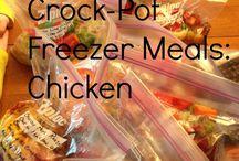 Time-Saving Freezer Recipes / #FrigidaireTimeSavingFreezerRecipesSweepstakes / by Dawn Green