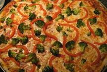 Food: Pizza / by Marjorie Edwards