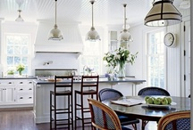 Kitchens - so pretty you might even cook! / We don't cook much, we eat out -- but these are rooms are so darn pretty. . . / by Urbanspoon