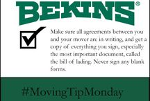 #Monday #Moving #Tips / Need some Monday #moving #motivation? Check back every Monday to jump start your week with advice to ensure a #successful #move.  / by Bekins Van Lines