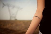 Tattoos <3 / by Jamie Cologna