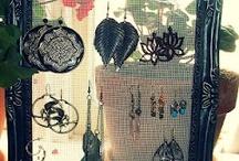 earring holders / by Debbie Reed