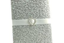 Silver Wedding Invitations / by InvitesWeddings