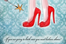 What my shoes say to me© by Jennifer R. Cook© / by Jennifer R. Cook