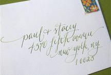 Calligraphy / by Margaret Van Damme