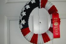 fourth of july crochet / by Teresa Shealy