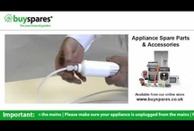 Fridge Freezer DIY Repair Videos / Save money by repairing your fridge freezer with our 'how to videos' from Buyspares.co.uk. / by BuySpares