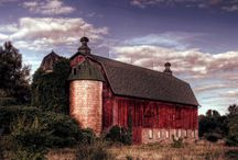 old barns and fences / by Natalie Jones