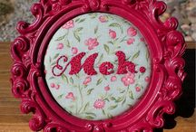 In Stitches / Embroidery, stitching, cross stitch / by Kelly C.