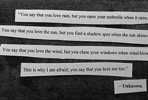 Words / by Adrien Hills
