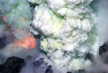 Volcanic Activity / Volcanic eruptions of various types  / by San Dan Yi