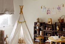 Tree houses, nurseries and kid's rooms / nature-inspired kid spaces / by Jennifer Dix