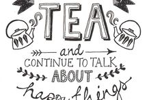 Coffee and Tea Time / This is an appreciation of my favorite beverages  / by James Morrow
