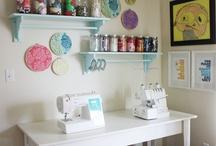 My craft room / by Elizabeth Douglas
