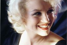 Marilyn / Marilyn - June 1, 1926 – August 5, 1962.  Born Norma Jeane Mortenson raised as Norma Jeane Baker. / by Becky Shickle