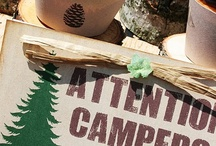 Camp out Birthday Party / by zoey's attic / pecking order
