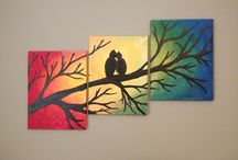 canvas ideas / by Vannessa Gonzalez-Lopez