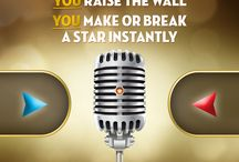 Gear Up for Rising Star / Download the App, follow all of Rising Star's social pages, and learn about the show. / by Rising Star