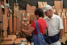 Woodworking / From handmade wooden instruments, to giant log cabin furniture, Arts Picnic has plenty of beautiful hand crafted wood work for you to check out! / by Greeley Arts Picnic