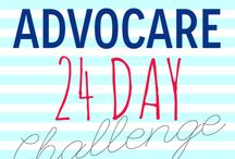 Advocare / Products, recipes and other fun things to promote a healthier me! / by Morgan Ashley