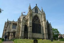 ♔ Ripon Cathedral, N. Yorks / Ripon Cathedral is situated in the small North Yorkshire city of Ripon. A church on the site is thought to date from 672. The crypt dates from this period. People have been coming to worship and pray at Ripon for more than 1,350 years.  / by Melissa