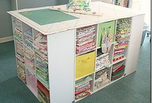 Craft room ideas / by Heidi
