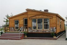Mobile Homes Customized / Park style mobile homes. Create a space for you and your family. / by Sherri Stillo
