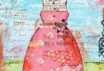 Mixed Media Inspirations / by Alina Gibson