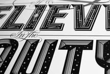 Typography / by Hookedblog Street Art