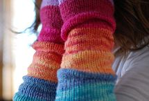 learn to knit  / by Kirsty Skilbeck