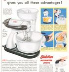Sunbeam Appliances / Magazine Advertisements featuring Sunbeam Appliances! Enjoy these vintage ads! And remember to visit www.magazine-advertisements.com to view, download, or print the Full-Size image! / by Advertisement Gallery
