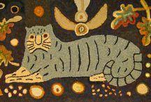 hooked rugs / by Havard & Havard