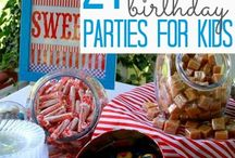 Birthday Party Ideas / Miscellaneous ideas and decorations for kids birthday party / by Veronica Naylor